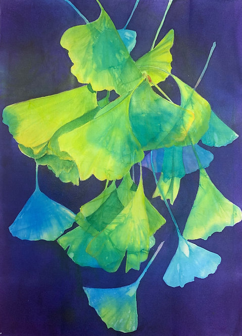 """""""Gingko #3"""" by Barbara Pease"""