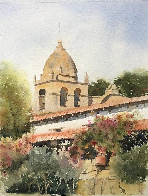 """Carmel Mission"" by John Ediger"