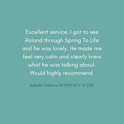 Roland Client Review