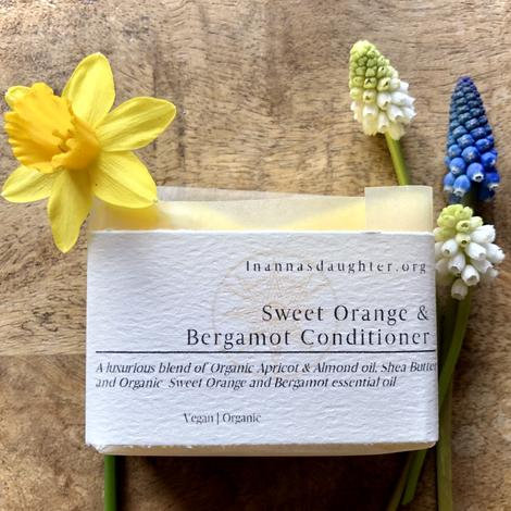Sweet Orange & Bergamot Conditioner Bar - For normal to dry hair