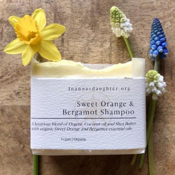Sweet Orange & Bergamot Shampoo Bar - For normal to dry hair