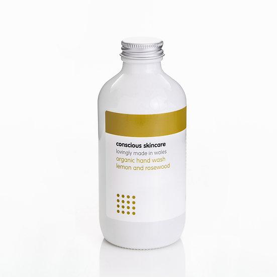 Lemon & Rosewood Organic Hand Wash