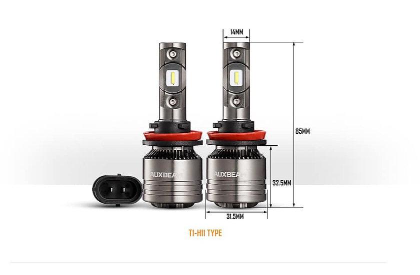 LED Headlamp bulb T1-H11 Auxbeam