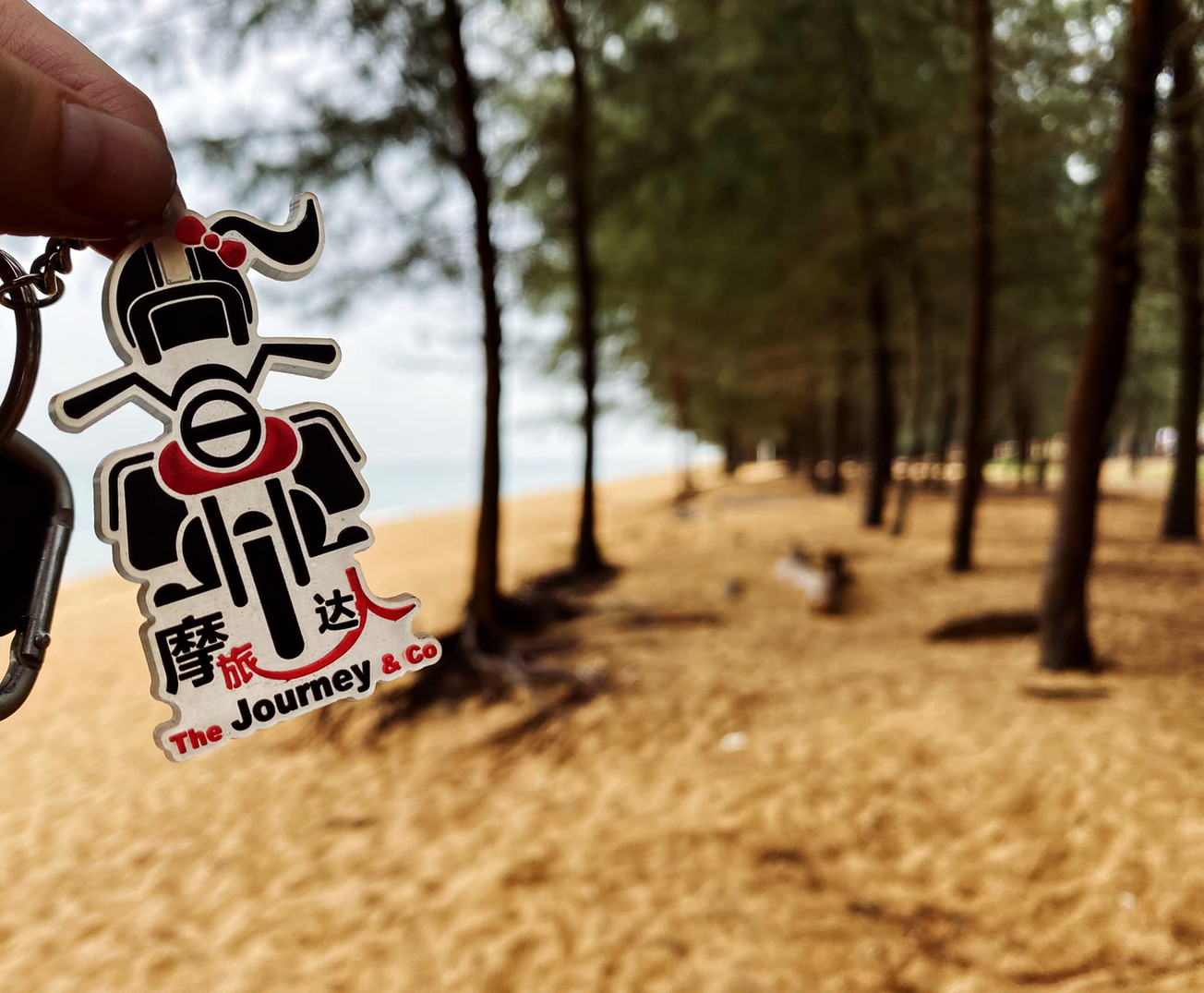 The Journey & Co Keychain