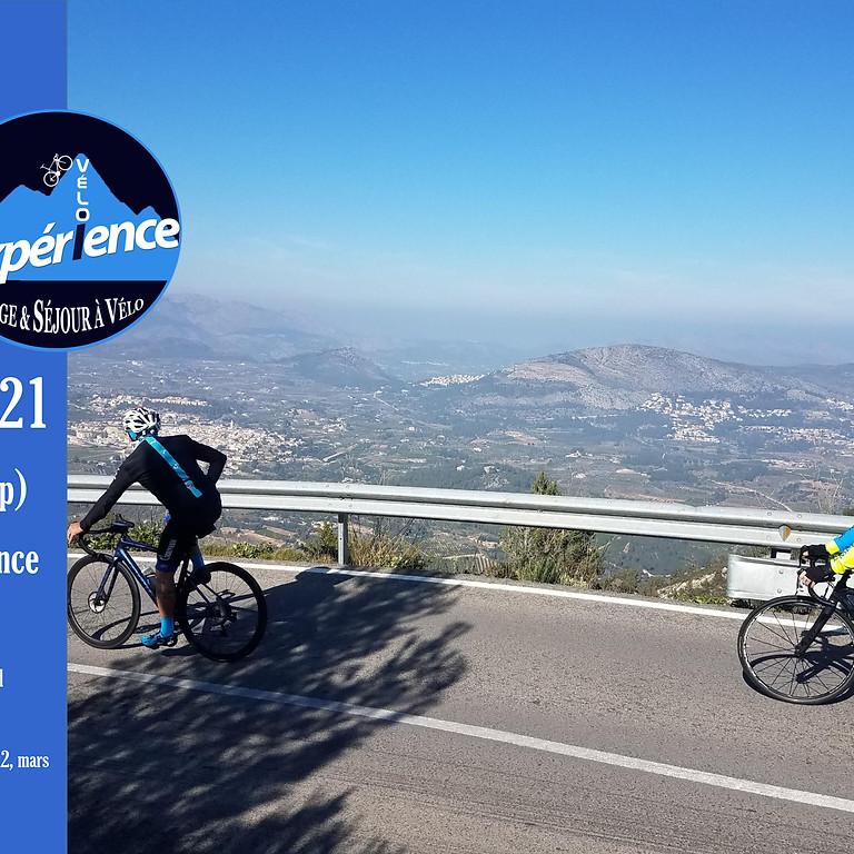 Stage début de saison - Calp (Altéa) janvier 2021