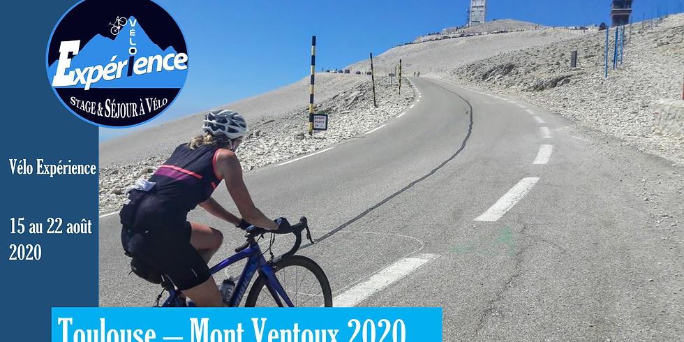 Toulouse - Mont Ventoux 2021