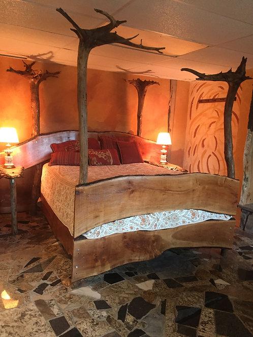 Handmade Wooden Bed Frame
