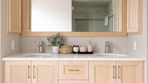 六個讓浴室儲藏空間最大化的方法