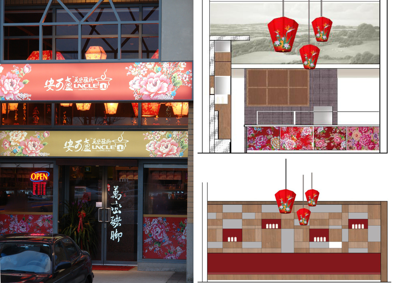 Asian theme Restaurant