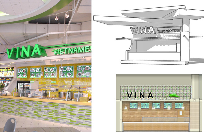 Metrotown food court