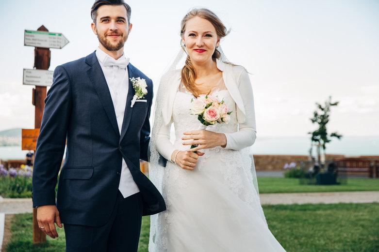 Veronika és András esküvője