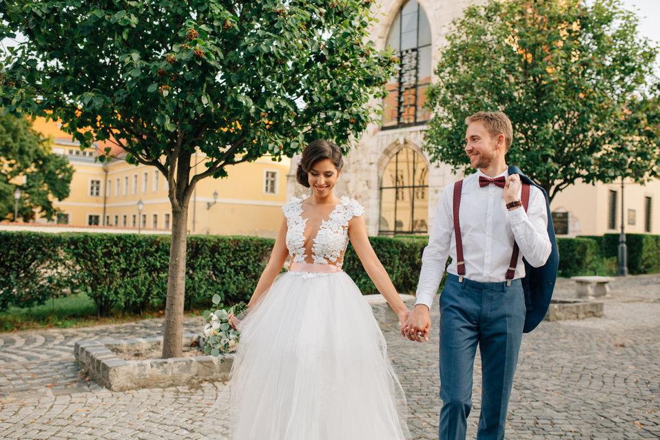 Yvette és Ádám esküvője