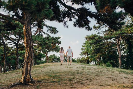 Virág és Dávid fotózása