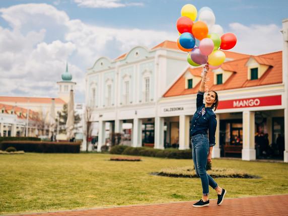 Tavaszi kampányfotózás - Parndorf Outlet