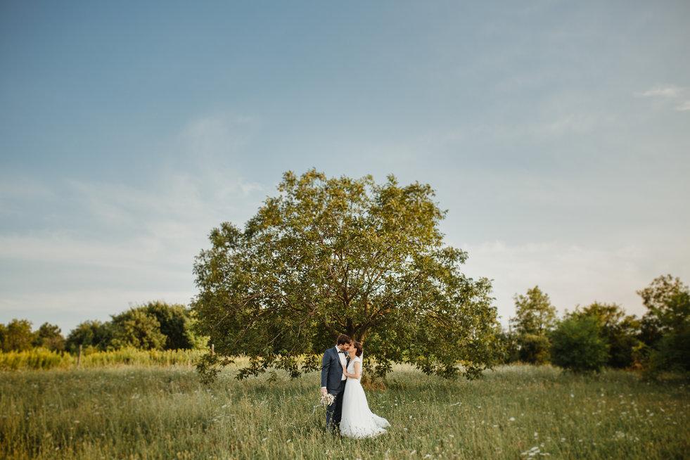 Lilla és Laci esküvője
