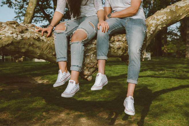 Jennifer és Attila fotózása