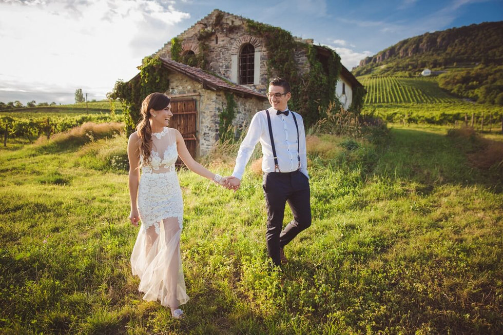 Balatoni esküvő, Badacsony
