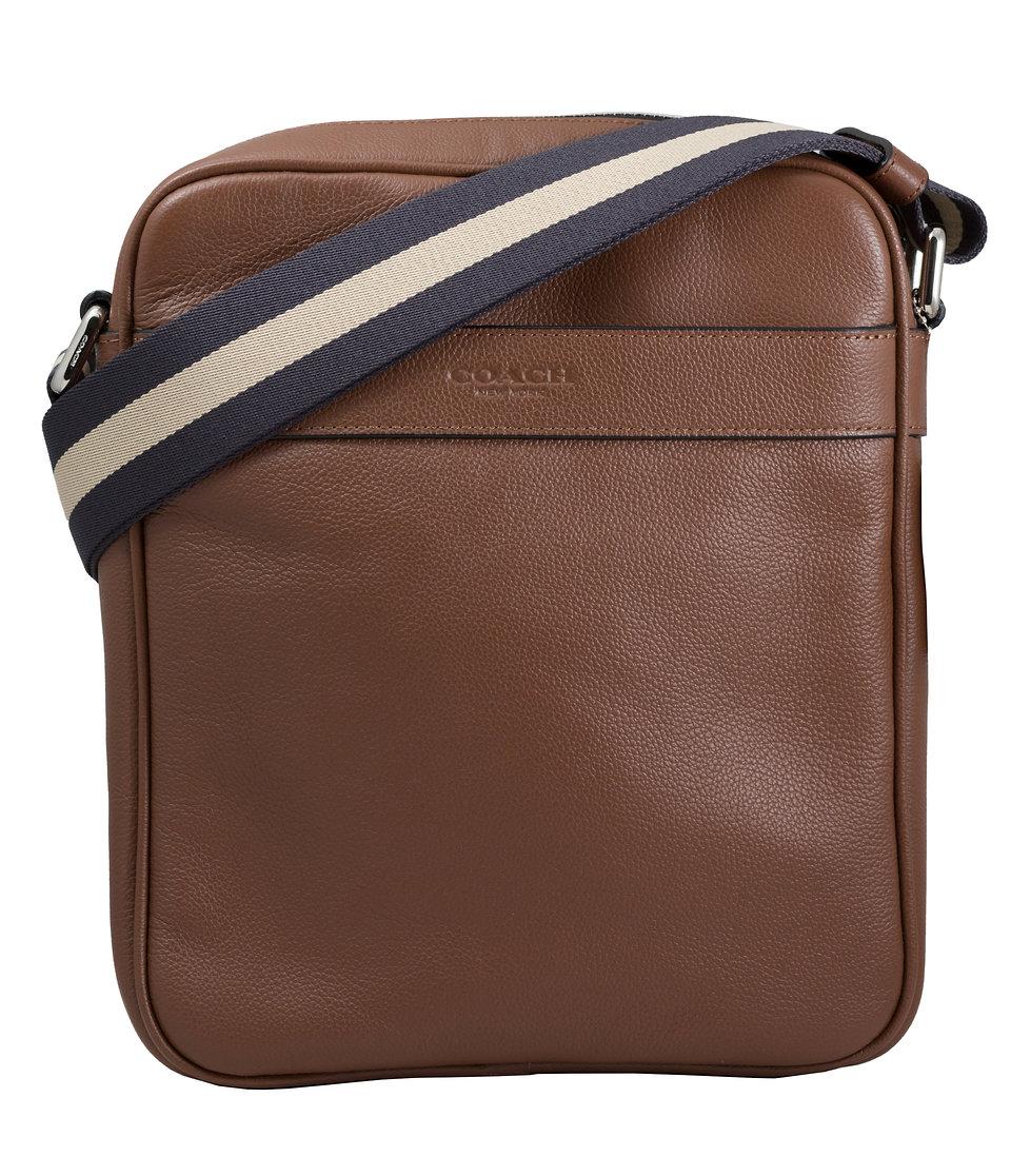 M - Coach - Charles Flight Bag Hellbraun