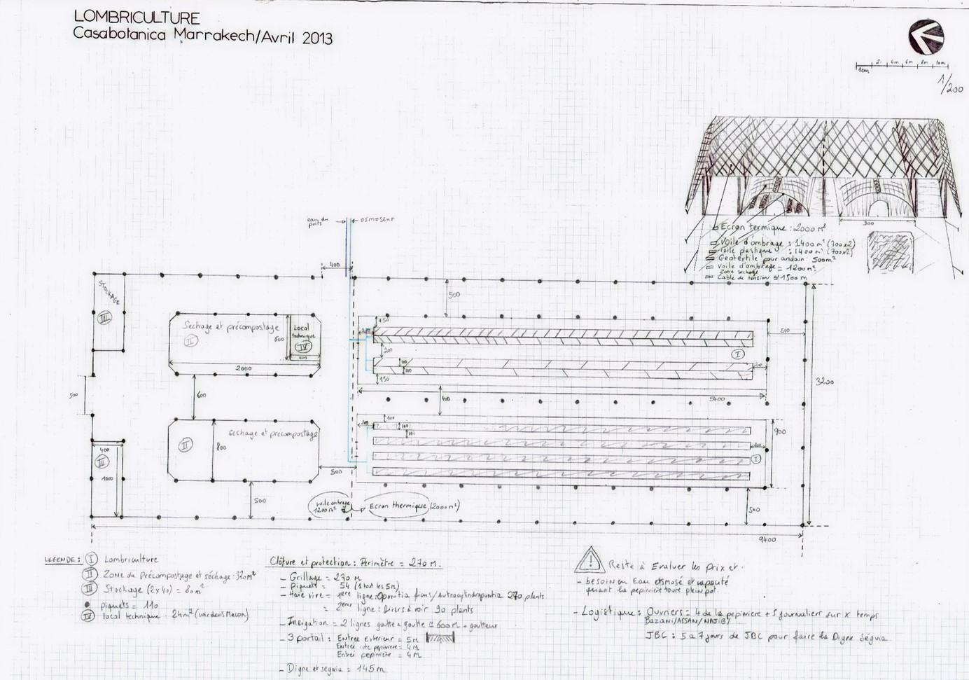 Ebauche dessin plan base