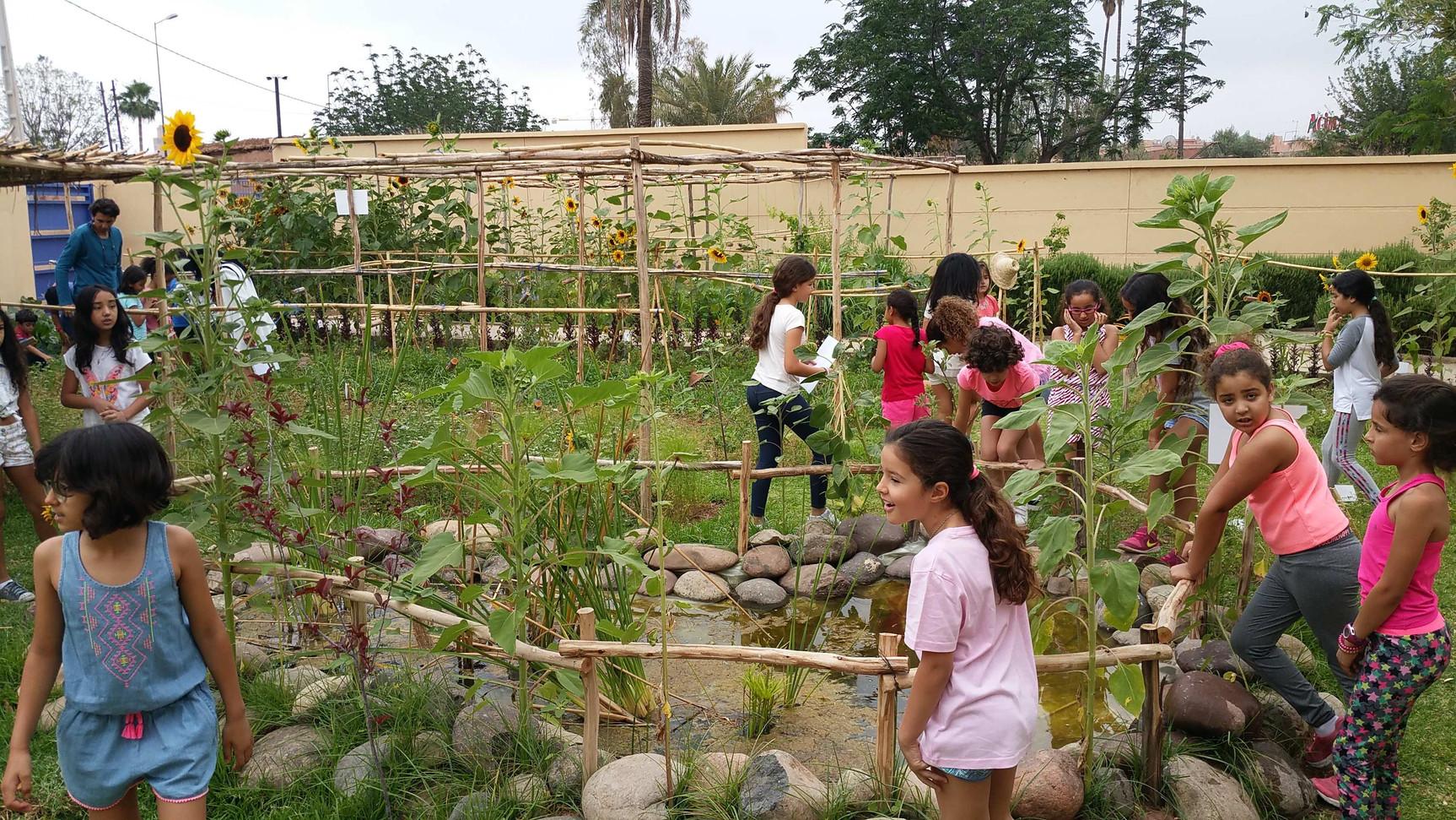 Le coeur d'un jardin pédagogique...