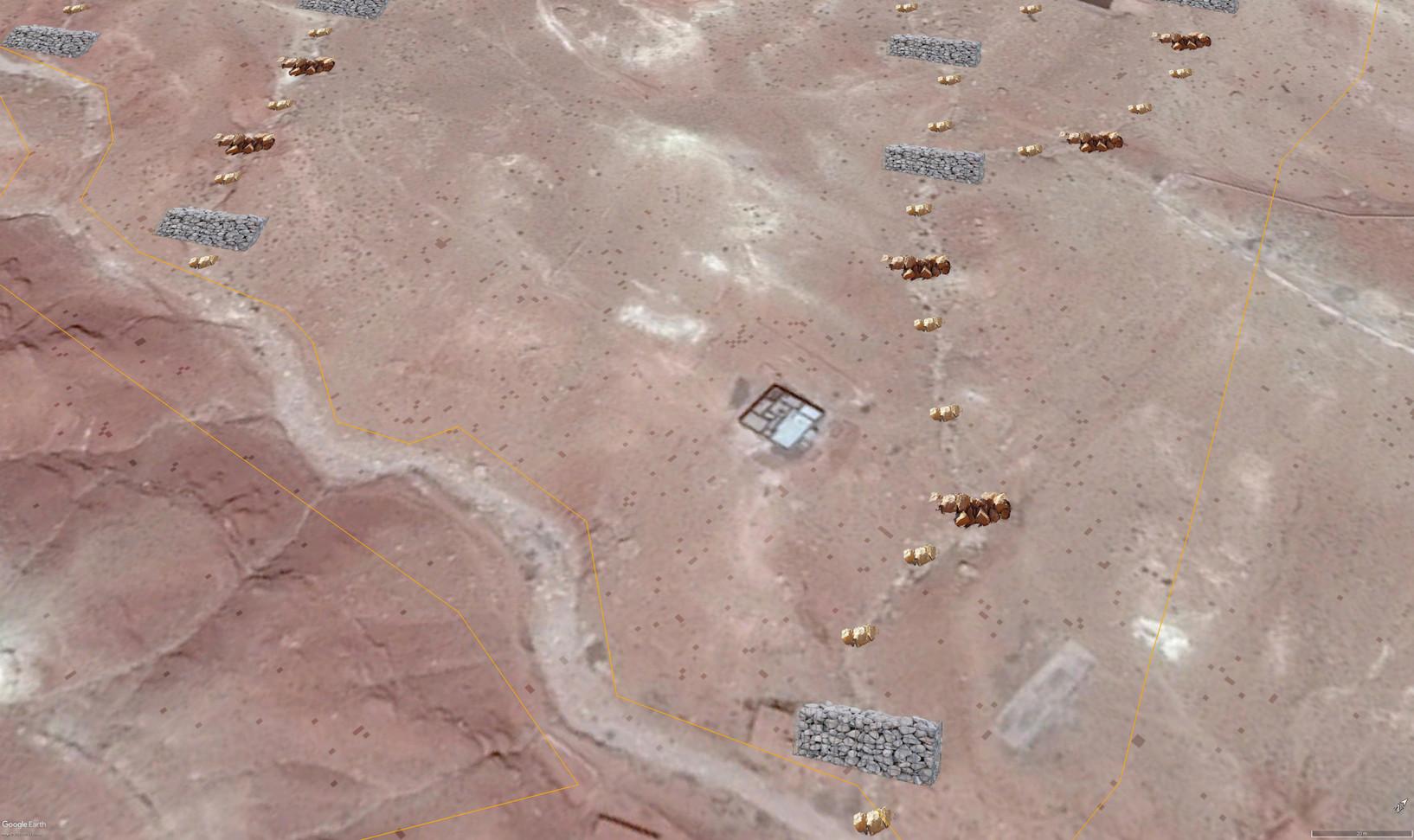 Gabion cage, gabion de pierre moyennes et gabion de pierre petites...