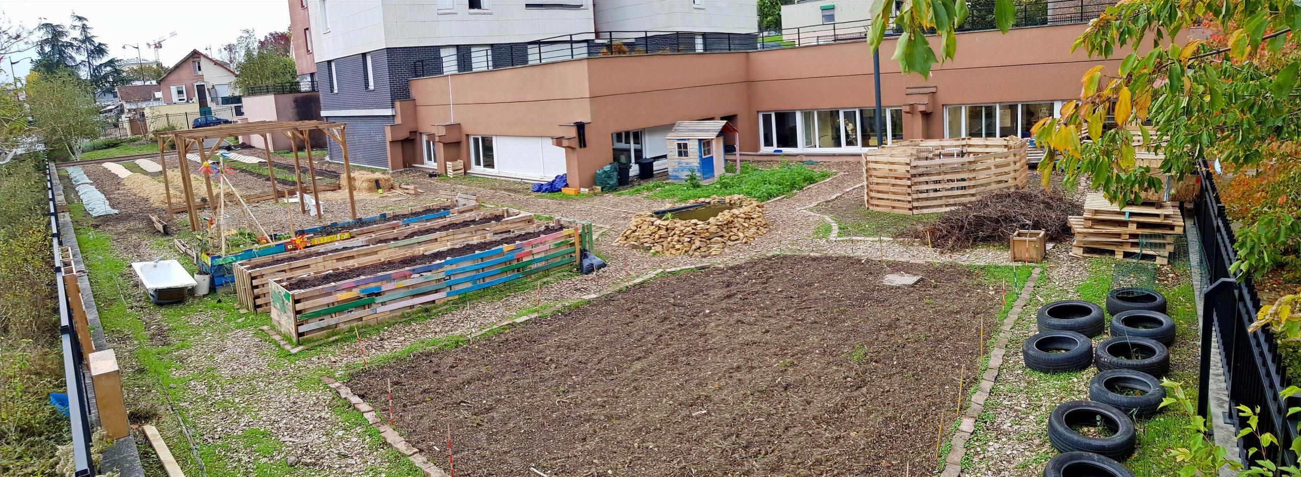 Installation jardin 2ème phase....