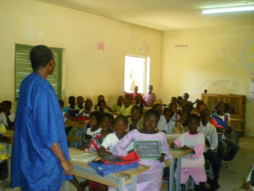 Ecole  St Louis correspondante de avec les enfants de Clichy....