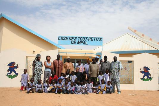 Reboisement des écoles des tout petits...