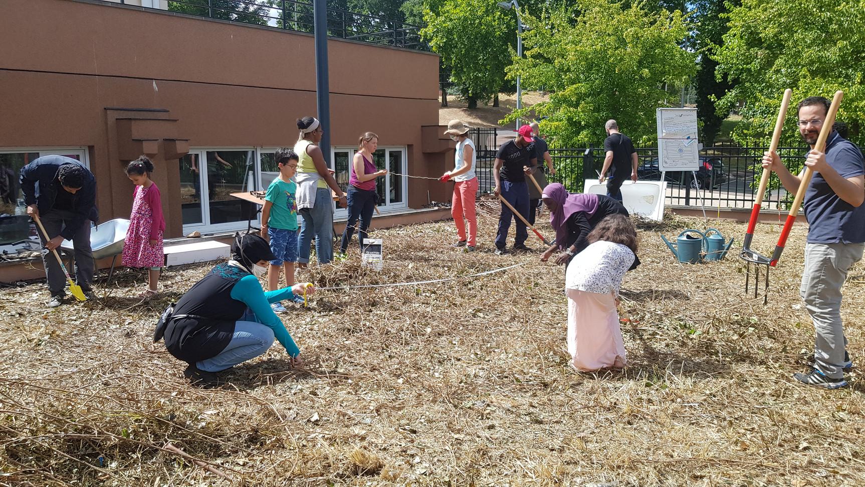 Nettoyage et préparation du jardin...