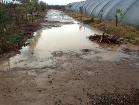 Zone d'inondation....