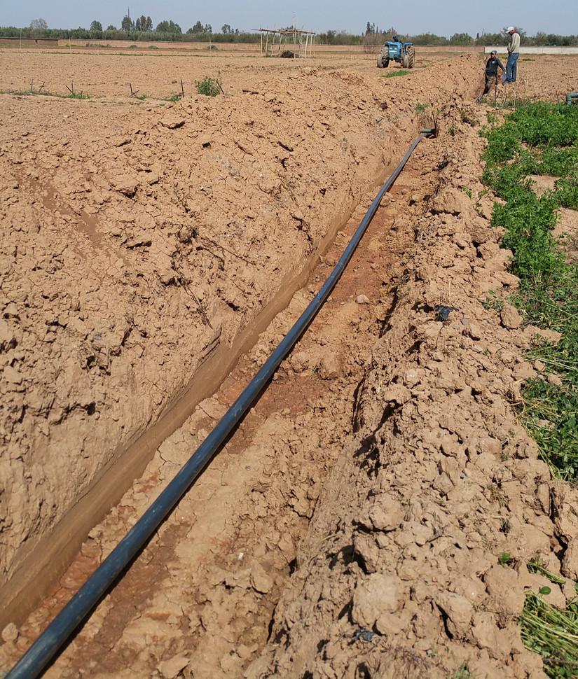 Irrigation, conduite principale...
