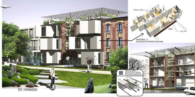 Immeuble autonome , archibionic