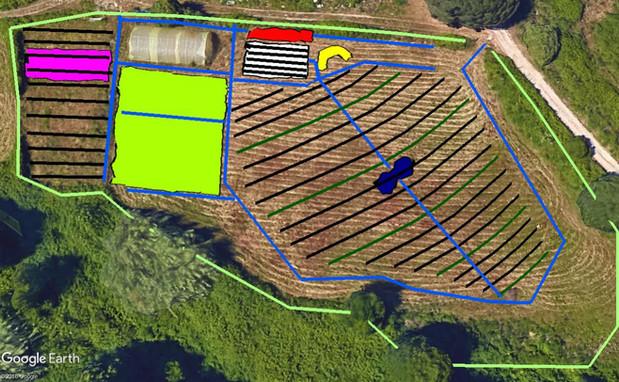 Design centre pilote Appietto, plan base, Corsica...