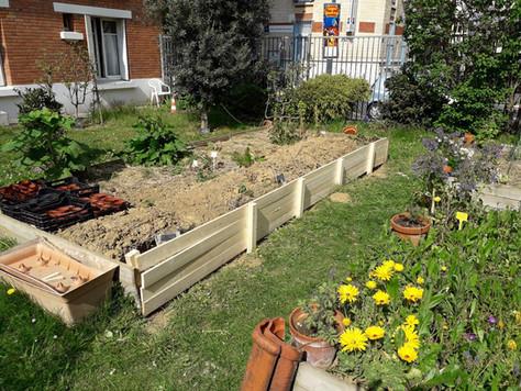 Lancement des jardinières...