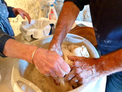 Préparer ça farine, son pain...