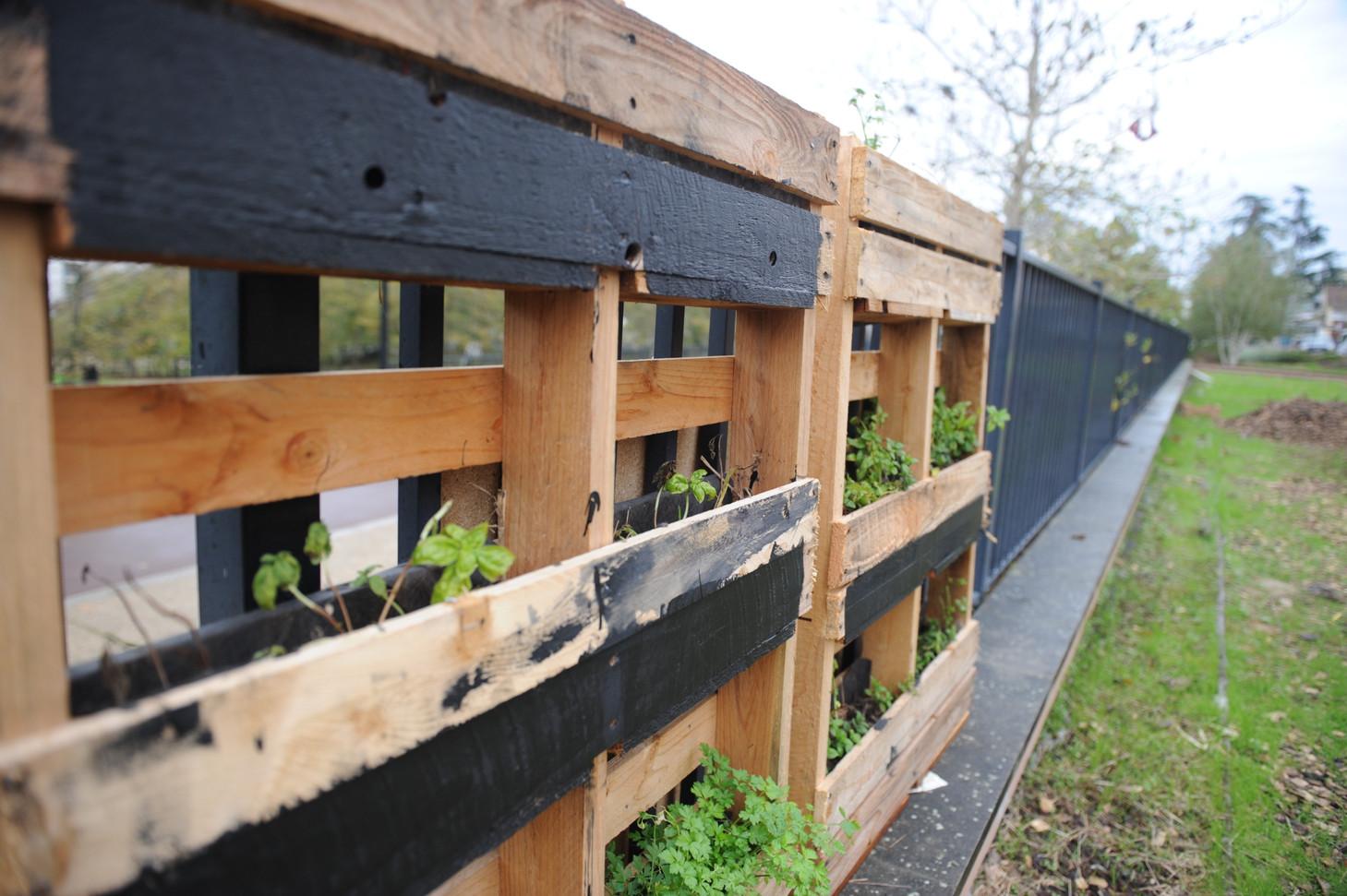 Fabrication de jardinière en palette...