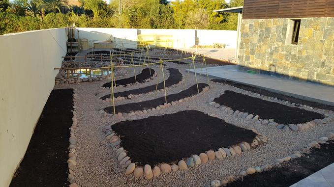 Jardin pédagogique école Montessori, Réalisation...