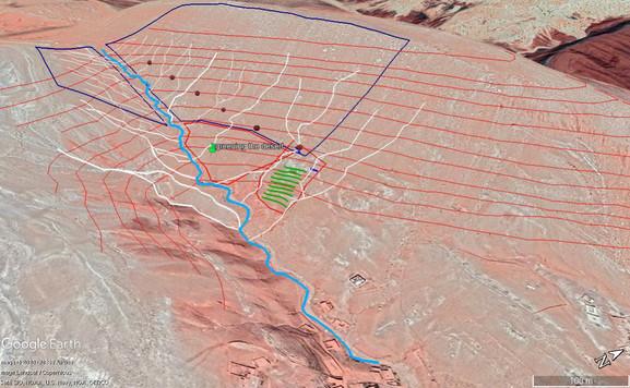Design, mise en perspective de la topographie....