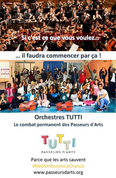 L'orchestre, puissant outil social...