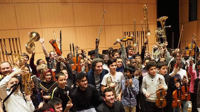 Una extraordinaria semana en Passeurs d'Arts... Gustavo Dudamel