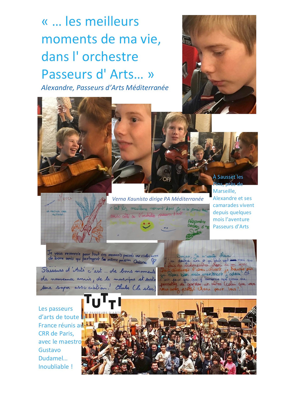 The best moments of my life in the orchestra