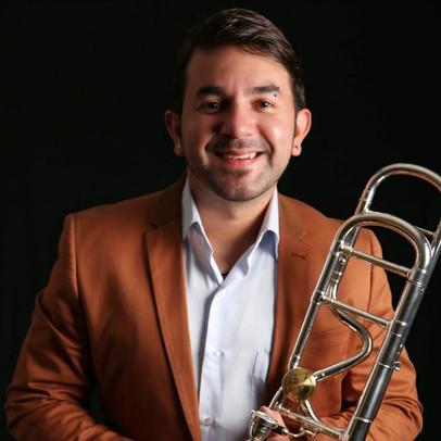 Pedro Carrero, trombone solo, orchestre Simon Bolivar, Venezuela