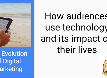 The one with how audiences use technology and its impact on their lives