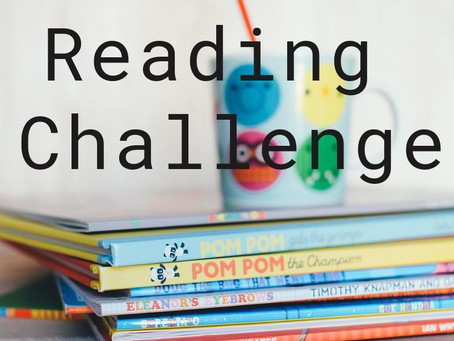 Reading: why do a reading challenge?