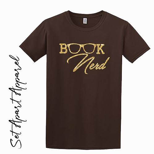 Book Nerd Cursive