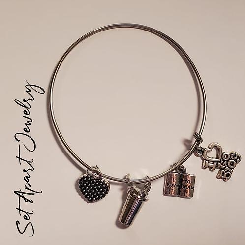 I Love to Blog-Adjustable Bracelet