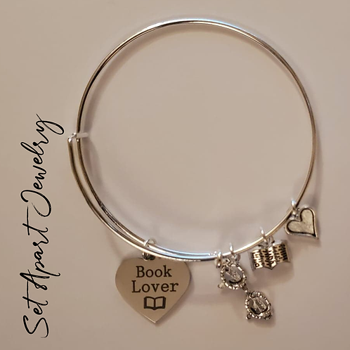 Book Lover-Adjustable Bracelet