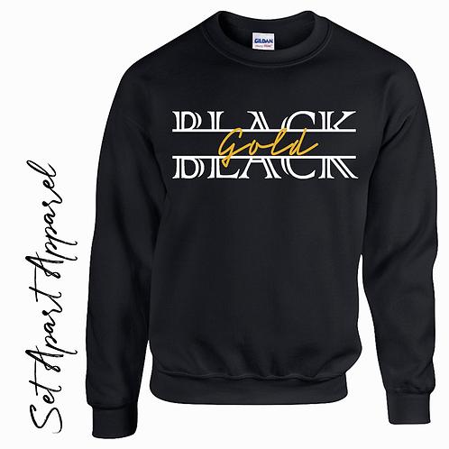 Black Gold Sweatshirt