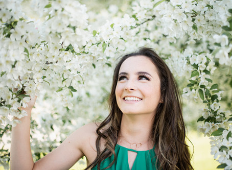 Spring Blossom Photoshoot in Elk River, MN