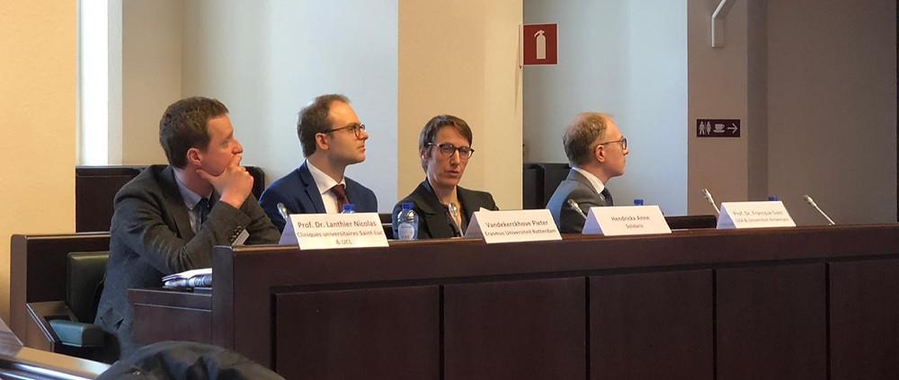 Panel discussie, Federaal Parlement